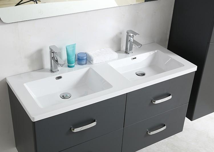 Mp 1701 48 Inch Mdf Pvc Melamine Bathroom Vanities Double