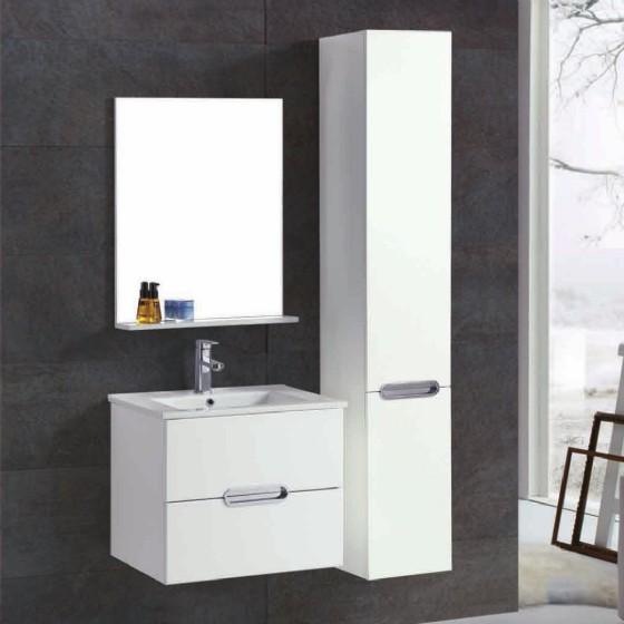Mf 1706 24 Inch Mdf Pvc Melamine Bathroom Vanities Single Sink Painting Pvc Filming Melamine Hangzhou Fame Industry Co Ltd