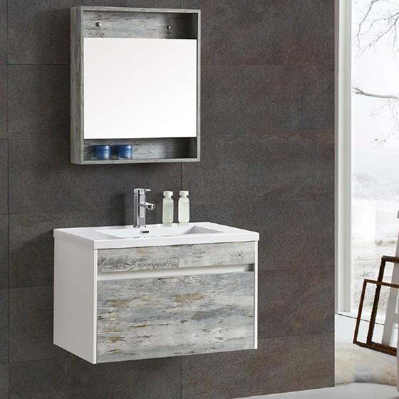 ML-1705 30 Inch MDF PVC Melamine Bathroom Vanities Single