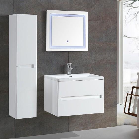 MF-1701 30 inch bathroom vanity with white high gloss ...