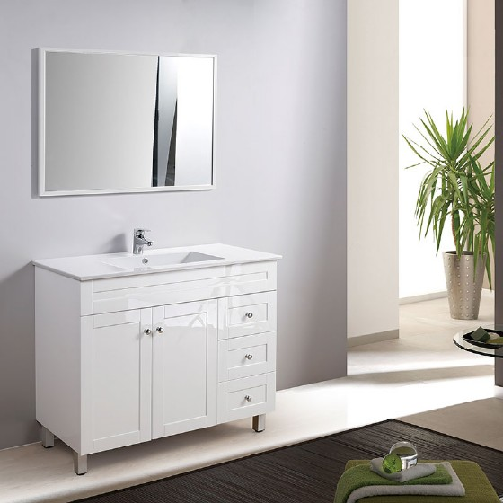 Mf 1618 48 Inch Pvc Bathroom Vanity Cabinet High Glossy Painting