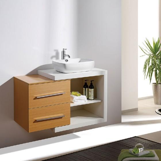 36 Inch Mdf Bathroom Vanity Cabinet High Glossy Painting