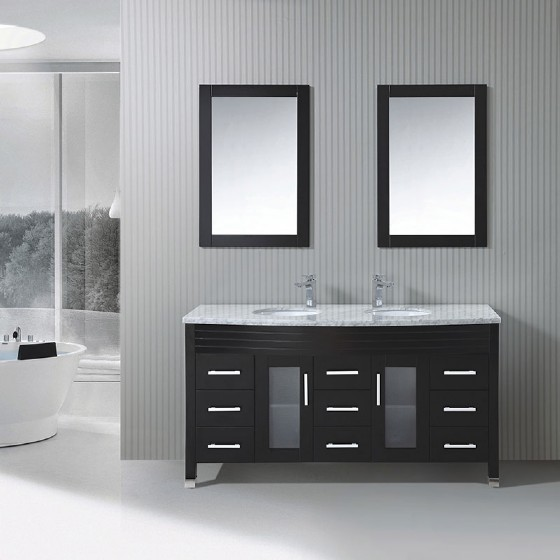 Terrific Sw 1502 72 Inch Solid Wood Double Basin Commercial Bathroom Home Interior And Landscaping Ferensignezvosmurscom
